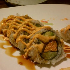 Photo taken at Sushi Moto by --- -. on 1/16/2012