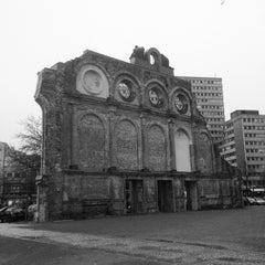 Photo taken at S Anhalter Bahnhof by avtoportret on 12/2/2011