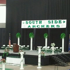 Photo taken at Allen County War Memorial Coliseum by Amy L. on 6/16/2012