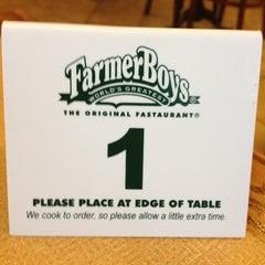 Photo taken at Farmer Boys by Fabian G. on 2/28/2012