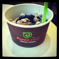 Photo taken at Aspen Leaf Frozen Yogurt by Heather H. on 7/1/2012
