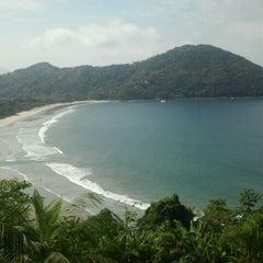 Photo taken at Barra do Sahy by Mari M. on 4/6/2012