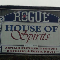 Photo taken at Rogue House of Spirits by Tom M. on 8/22/2011
