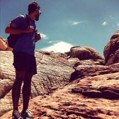 Photo taken at Red Rock Canyon National Conservation Area by Leandro A. on 7/21/2012