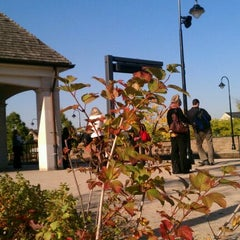 Photo taken at Metra - Lake Forest by a k on 10/5/2011