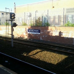 Photo taken at Salford Crescent Railway Station (SLD) by Gareth R. on 6/3/2011