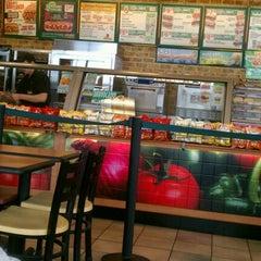 Photo taken at Subway by Sarah M. on 5/1/2012