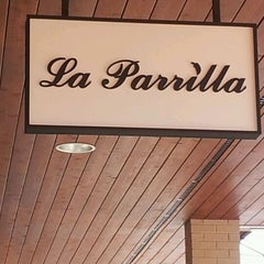 Photo taken at La Parrilla by Anand T. on 5/20/2012