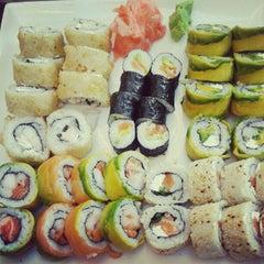 Photo taken at Niu Sushi by María Jesús D. on 6/3/2012