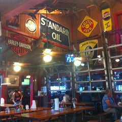 Photo taken at Bubbalou's Bodacious Bar-B-Que by Gerald H. on 3/11/2012