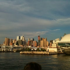 Photo taken at Circle Line Sightseeing Cruises by Evgeny A. on 7/11/2012