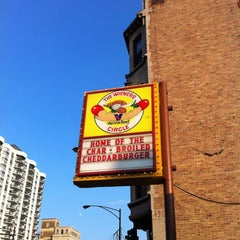 Photo taken at The Wiener's Circle by Daniel S. on 7/1/2012