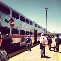 Photo taken at San Francisco Caltrain Station by Dustin C. on 6/1/2012