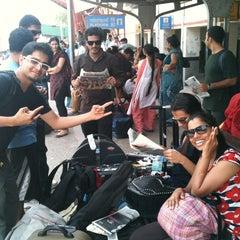Photo taken at Gurgaon Railway Station (GGN) by Rahul M. on 6/16/2012