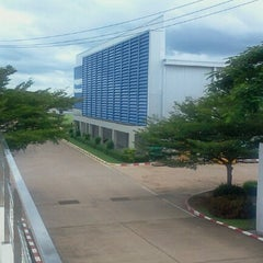 Photo taken at Panasonic Manufacturing (Thailand) Co.,Ltd. by Nathapong n. on 9/6/2012