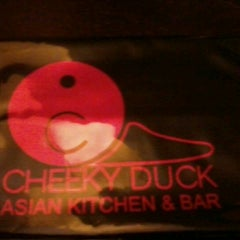 Photo taken at Cheeky Duck Asian Kitchen & Bar by William T. on 8/20/2012