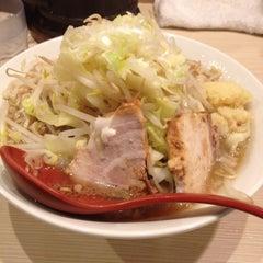 Photo taken at 麺場 風天 by gold b. on 4/17/2012
