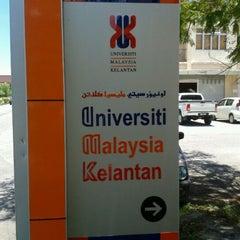 Photo taken at Universiti Malaysia Kelantan (UMK) by Tokeh K. on 4/25/2012
