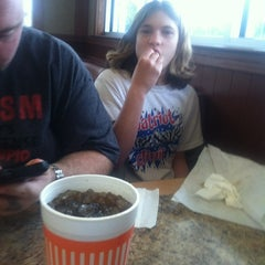 Photo taken at Whataburger by Zachary B. on 2/4/2012