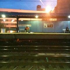 Photo taken at Bridgeport Train Station (BRP) - Metro North & Amtrak by Houston S. on 8/20/2012