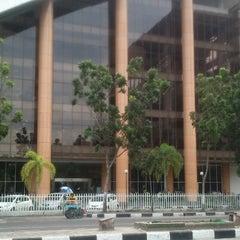 Photo taken at Pustaka Wilayah Soeman HS by Tengku H. on 6/14/2012