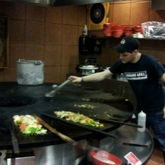 Photo taken at Genghis Grill by Billy F. on 7/11/2012