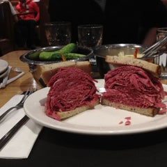 Photo taken at Sarge's Delicatessen by Donald B. on 3/11/2012