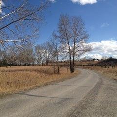 Photo taken at Fish Creek Park - Glennfield by Dave R. on 3/16/2012