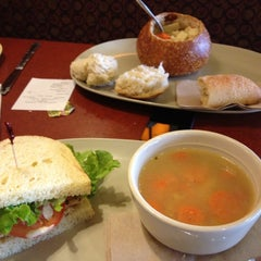 Photo taken at Panera Bread by Craig W. on 4/24/2012