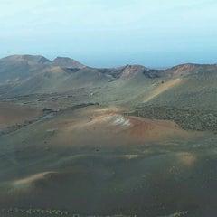 Photo taken at Parque Nacional de Timanfaya by Ana D. on 2/6/2012