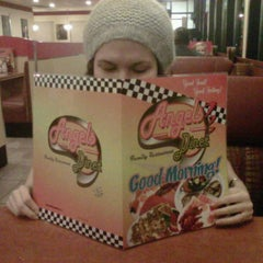 Photo taken at Angel's Diner by Angie V. on 2/24/2011