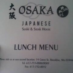 Photo taken at Osaka by Jenny on 2/14/2012