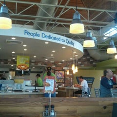 Photo taken at PDQ Tenders Salads & Sandwiches by Robert M. on 5/5/2012