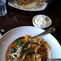 Photo taken at Thai Silver Spring by Desiree B. on 5/19/2012