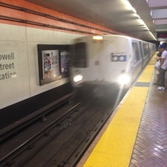 Photo taken at Powell St. BART Station by Christopher L. on 7/9/2012
