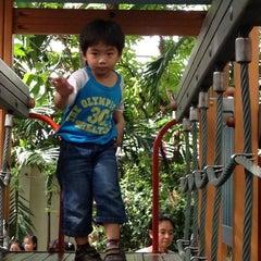 Photo taken at Playground by Pat B. on 8/17/2012