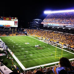 Photo taken at Heinz Field by CJ W. on 8/20/2012