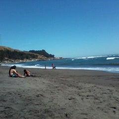 Photo taken at Caleta Duao by Jorge T. on 2/20/2012