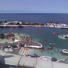 Photo taken at Piscinas Naturais do Porto Moniz by José S. on 8/26/2012