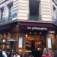 Photo taken at Les Philosophes by karin on 9/11/2011
