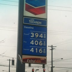 Photo taken at Chevron by Peter K. on 3/1/2012