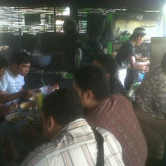 "Photo taken at Sate, Tongseng, dan Gule Kambing ""Pak Gito"" by Benjamin P. on 10/31/2011"