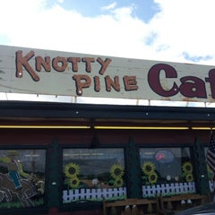 Photo taken at Knotty Pine Cafe by Chelsea F. on 8/23/2012