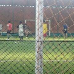 Photo taken at Futsal Galuh Mas by Menel S. on 1/15/2012
