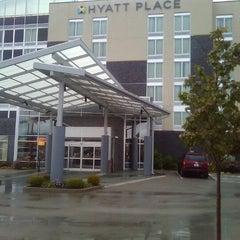 Photo taken at Hyatt Place Lexington by Tim Hobart M. on 9/26/2011