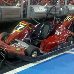Photo taken at K1 Speed Anaheim by Dianna on 10/7/2011