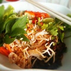 Photo taken at myElephant Thai Restaurant by Justin F. on 3/11/2011