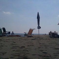 Photo taken at 145th St Beach by Brett S. on 8/16/2011