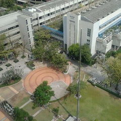 Photo taken at Bangkok University International College (BUIC) by Kittipan M. on 1/13/2012