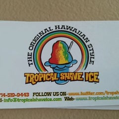 Photo taken at Tropical Shave Ice by Ben D. on 10/15/2011
